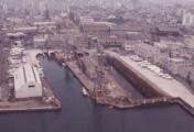 かつて造船業で栄えたまち、北加賀屋。